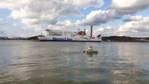 Seacat in the marina.